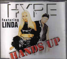 Hype feat Linda-Hands Up cd maxi single Eurodance Norway 7 tracks