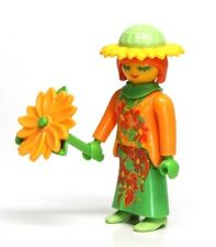 Playmobil Figure Mystery Series 11 Sunflower Girl Woman Fairy w/ Flower 9147 NEW