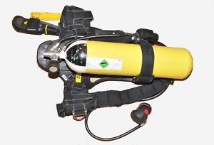 Dräger PSS90 Bodyguard / Pressluftatmer / Atemschutzgerät / Lungenautomat