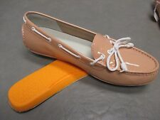NWOB COLE HAAN Women Patent Leather Beige Loafers Boat Shoes sz 7 B/M SALE!!!