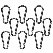 Climbing Camping Hiking Keychain Water Bottle Hooks Snap Clip D Carabiner