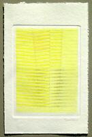 """Agostino BONALUMI - """"Senza titolo"""" / D, 1990 - Acquaforte, 23 x 34 cm"""