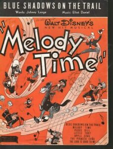 Blue Shadows on the Trail 1948 Disney's Melody Time