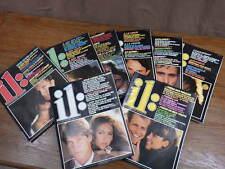 Lot 8 Revues MAGAZINE IL: IL Année 1983 Nos 48 49 51 52 53 54 55 56 Mode Vintage