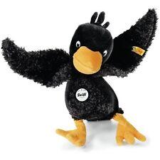 Steiff Abraxas pendantes Raven EAN 064593 33 cm Noir ENFANT Cadeau Peluche Jouet Doux BN