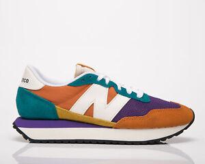 New Balance 237 Mujer Vintage Naranja Equipo Azulado Informal Lifestyle Sneakers