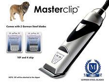 Leonberger cane Clippers Trimmer Set con 2 lame in acciaio tedesco da Masterclip