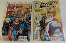 New listing Justice League Of America #7 & 10 Power Girl Michael Turner Covers Nm