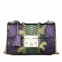 Women Handbag Leather Flap Clutch Purse Chain Designer Bags Luxury Shoulder Sac