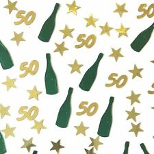 50th Birthday Table Scatter | 50th Party Table Confetti Decor - UK SELLER