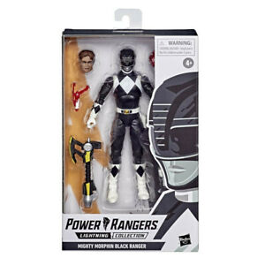 Power Rangers Lightning Collection Wave 6 - MMPR Mighty Morphin Black Ranger