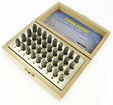 3mm 36pc Letter & Number Stamp Set Metal Punch Stamps TH273