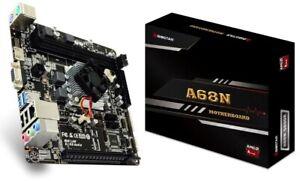 Biostar A68N-5600E Mainboard mit CPU AMD PRO A4 Quad-Core DDR3 Radeon R4 USB 3.1