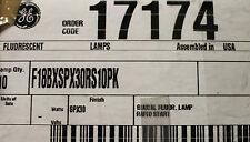 CFL Light Bulb GE F18BX/SPX30/RS 18W 4 PIN HIGH LUMEN BIAX