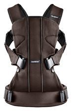 New Baby Bjorn One Brown/Black Mesh Free Express Shipping !!