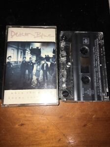 DECON BLUE WHEN THE WORLD KNOWS YOUR NAME Cassette Tape