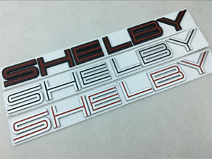 1pc Shelby GT500 Rear Emblem Nameplate Tail Badge Decal For 2007-09 Cobra Snake