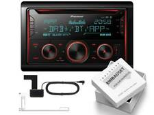 Pioneer fh-s820dab 2 din DAB para Skoda Octavia II Facelift 2009-2013 CanBus LFB
