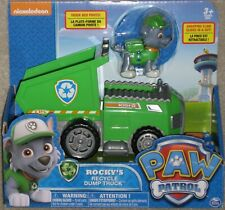 New Nickelodeon Paw Patrol Rocky's Recycle Dump Truck Free Priority Shipping !
