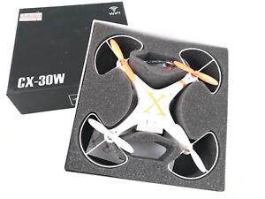 Quadcopter CX-30W Drone Cam Wifi Orange Modélisme