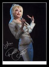 DOLLY PARTON AUTOGRAPHED SIGNED & FRAMED PP POSTER PHOTO