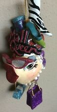 Katherine's Collection Kissing Fish Mall Shopping Shoe Queen Pink Sunglasses