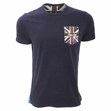 Brave Soul Short Sleeve Graphic Fitted T-Shirts for Men