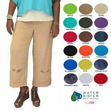 WATERSISTER Cotton Gauze  CASPER Crop Pant 1(S/M) 2(L/XL) 3(1X+) 2019 COLORS