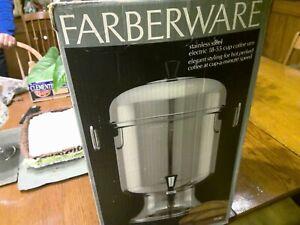Farberware coffee urn Large Good Condition