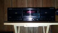 Kenwood KX-W892 Stereo Cassette Deck With Dual Deck Recording {{{SERVICED}}}