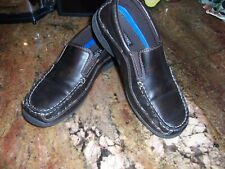 Stacy Adams Boys Size 7 Youth Casual or Dress Brown Shoes Slip on Loafers