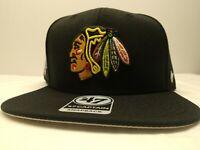 🔥NEW Forty Seven '47 Brand Chicago Blackhawks NHL Snapback Hat Hockey MSRP $35