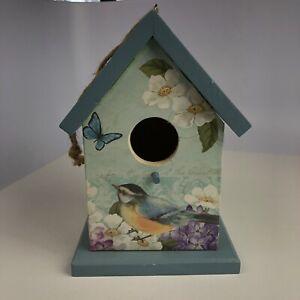 Bird House Decorative 8 Inch Ganz