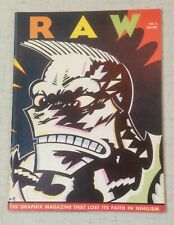 Raw Graphix Magazine #3/Art Spiegelman/Charles Burns/Gary Panter/Cathy Millet