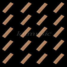 20pcs Natural Clarinet Neck Cork Sheet 2mm Bb Clarinet Joint Cork Clarinet Neck