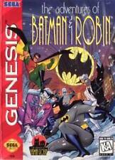 Adventures Of Batman And Robin - Sega Genesis Game