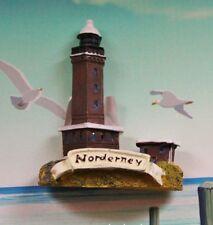Deko-Magnet Leuchtturm Norderney aus Polystone ca.5,5 x 5 cm