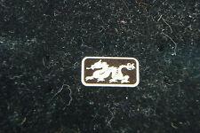 Dragon 1 Gram .999 Fine Silver Bar Coin Bullion Symbol for Power Strength & Luck