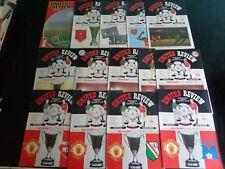 MANCHESTER UNITED v VIDEOTON   UEFA CUP  1984/85