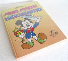 MIKKI HIIREN HATUNNOSTO Mickey Mouse Hats Off (1988) WALT DISNEY BOOK RARE