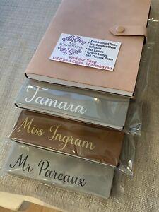 Personalised Journal / Notebook