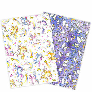 Squires Natasha Collins Unicorn Edible Wafer Paper 2 Sheets Cut out your shapes