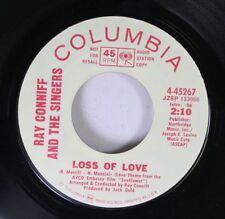 Pop Nm! Promo 45 Ray Conniff And The Singers - Loss Of Love / Everybody Knows On