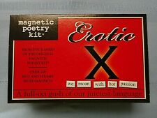 NEW EROTIC X Magnetic Poetry Kit