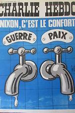 CHARLIE HEBDO No 102 OCTOBRE 1972 NIXON C EST LE CONFORT