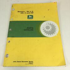 Genuine Pc817 John Deere 8 8W 9 9W Mowers Parts Catalog Manual