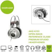 *Brand New* AKG K701 Open-Back Reference Class Premium Studio Headphones - White