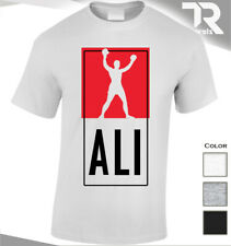NEW THE BOXING LEGAND ALI T SHIRT GYM TSHIRT MUHAMMAD WORKOUTFIGHT UFC MMA GREAT