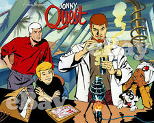 Extra Large! Jonny Quest Poster Print #1 Hanna Barbera Studios Race Hadji Bandit