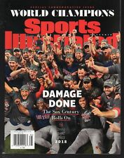 Sports Illustrated 2018 World Series Champions Boston Red Sox Team Newsstand